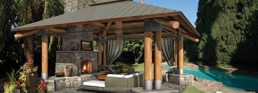 Bungalow Outdoor Living Room