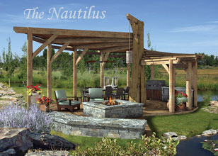 Nautilus custom outdoor room design