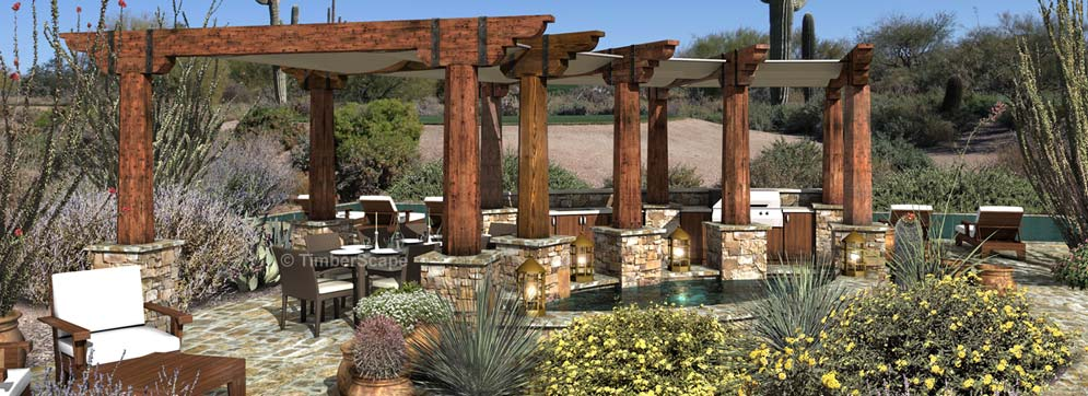 Amphitheater Luxury Outdoor Living Space