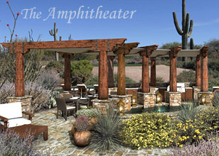 The Amphitheater luxury outdoor space