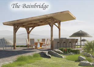 Bainbridge Luxuy outdoor pavilion