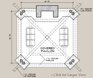 Bungalow Outdoor Floor Plan