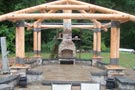 Bungalow Outdoor Living Log Shell
