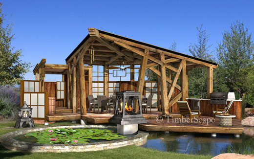 Lotus Room Luxury Outdoor Room