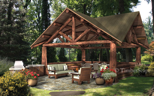 Photo Gallery Pocono Pavilion Design Backyard Pavilion