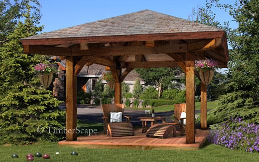 Outdoor Living Room Gazebo 6