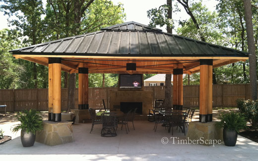 Photo Gallery Bungalow Custom Gazebo Photo 2