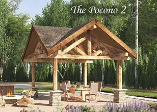 Pocono 2 outdoor pavilion