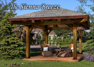 Sienna Breeze Timber Gazebo
