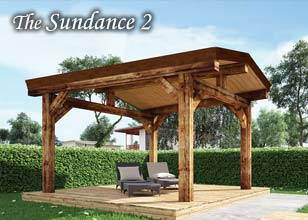 Sundance timber Pergola Design