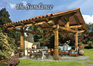 Sundance Southwestern Pergola Design