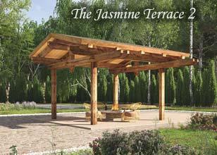 Jasmine Terrace timber pergola