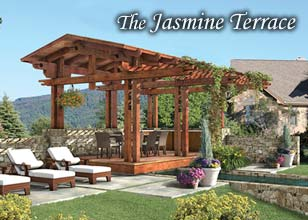 Jasmine Terrace custom outdoor room design