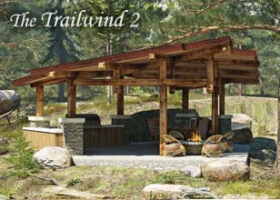 Trailwind 2 outdoor pavilion