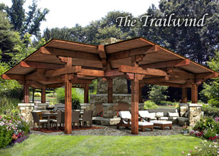 Trailwind Pavilion design
