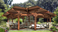 Trailwind outdoor pavilion